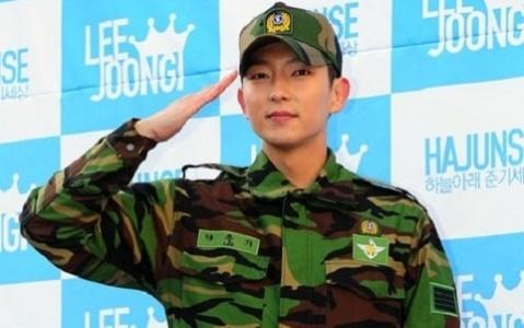 Lee Jun Ki é Dispensado do Serviço Militar   Luso-Hallyu